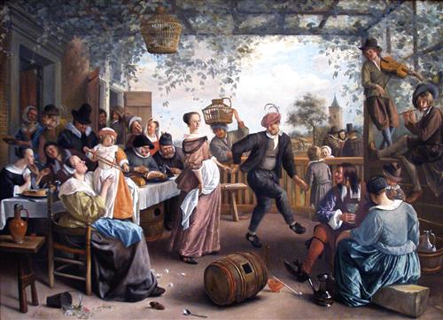 Jan Steen's The Dancing Couple