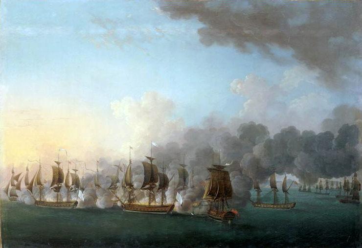 Combat_naval_de_Louisbourg_1781