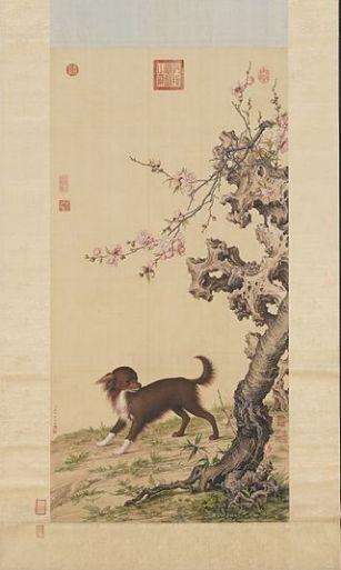 Dog_Under_Flowers